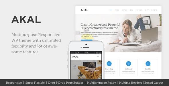 Akal - Multipurpose WordPress Theme