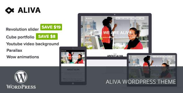 Aliva Creative WordPress Theme