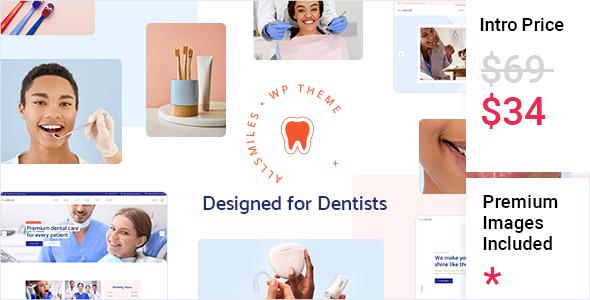 AllSmiles - Dentist Theme