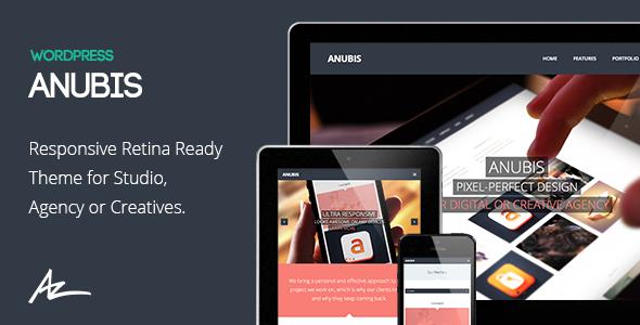 Anubis - Responsive Portfolio & Blog Theme