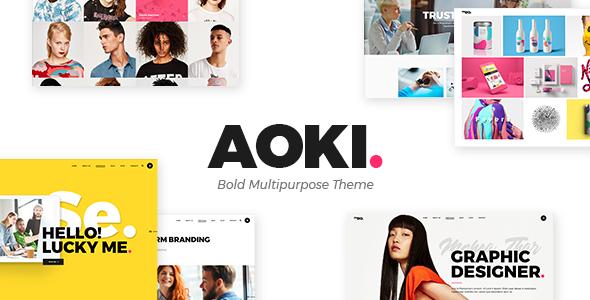Aoki - Creative Design Agency Theme