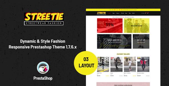 Ap Streetie - Prestashop Street Style Fashion Theme