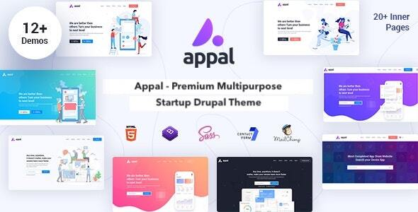 Appal - Multipurpose Startup Theme for Drupal