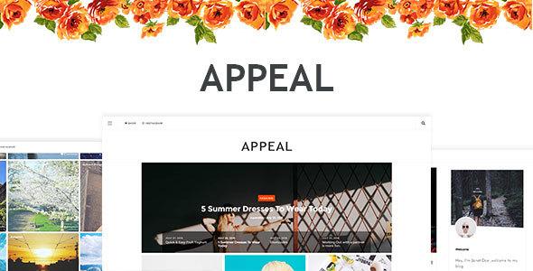 Appeal — A News, Blog, & Shop WordPress Theme
