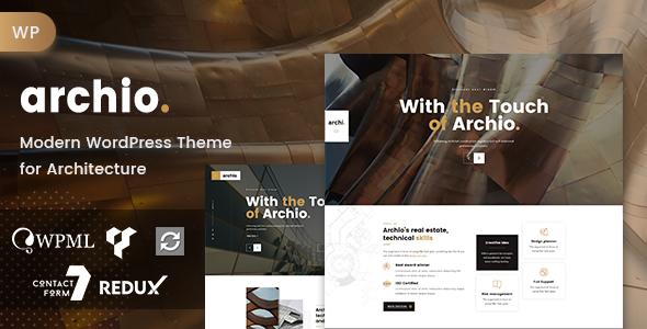 Archio - Architecture WordPress Theme