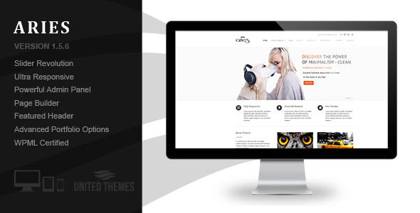 Aries - Responsive Business WordPress Theme