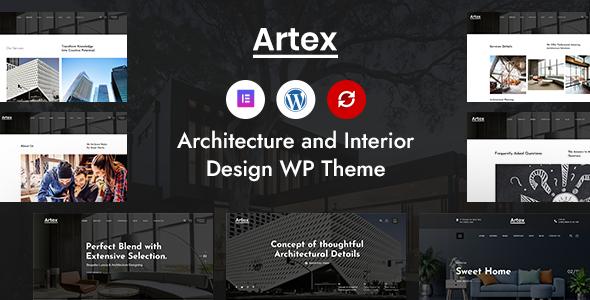 Artex - Architecture & Interior WordPress Theme