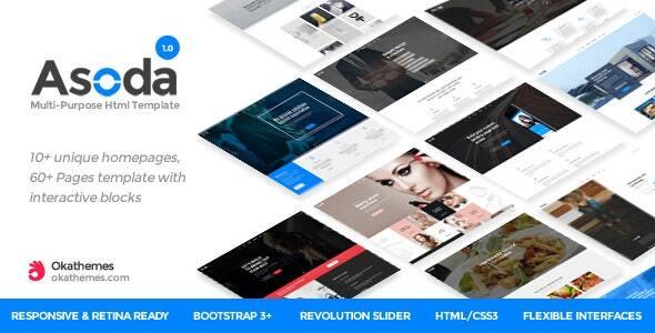 Asoda - Multi-Purpose Responsive Joomla Template