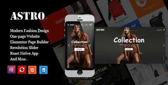 Astro - Fashion Ecommerce Shopping Theme