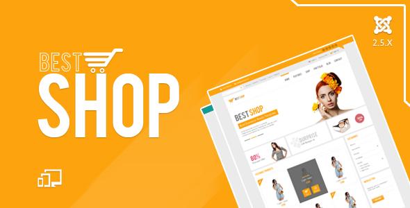BestShop HTML5 Joomla E-Commerce Template