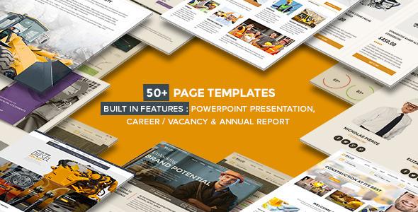 Billio - Multipurpose Company WordPress Theme