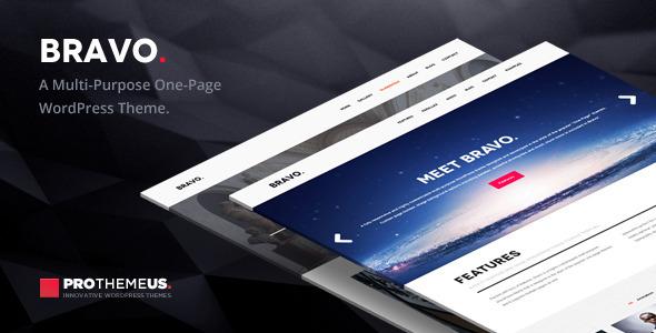 Bravo | A Multi-Purpose One-Page WordPress Theme