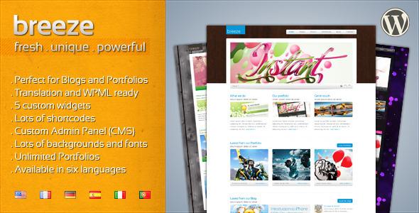 Breeze - Professional Corporate and Portfolio WP