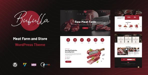 Bubulla - Meat Farm & Store WordPress Theme