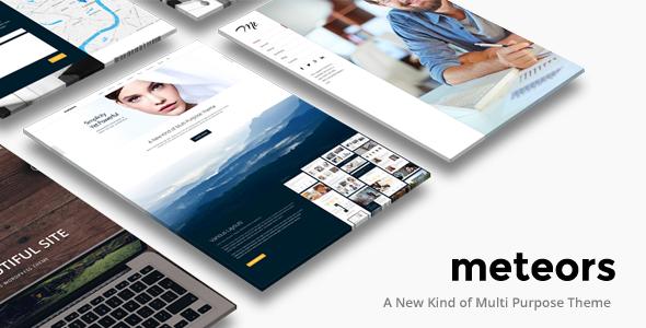Business Multi-Purpose   Meteors Theme