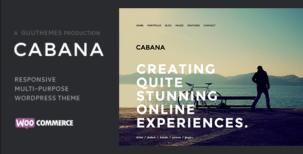 Cabana - Creative Multi Purpose WordPress Theme