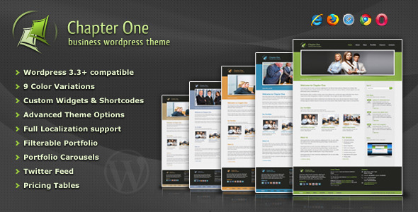 Chapter One - Business WordPress Theme