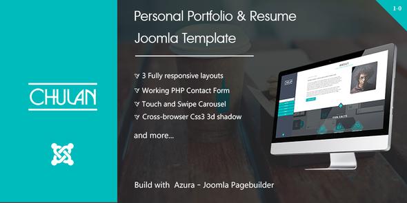 Chulan - Personal Portfolio & Resume Template