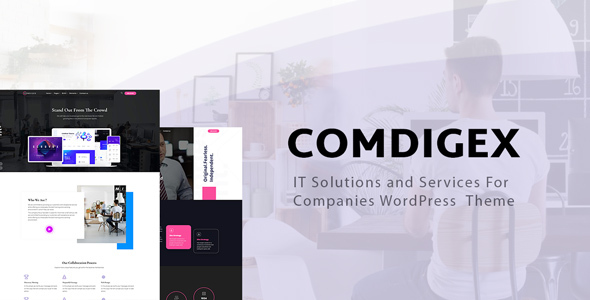Comdigex - IT Solutions and Services Company WP Theme