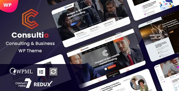 Consultio - Consulting & Business WordPress