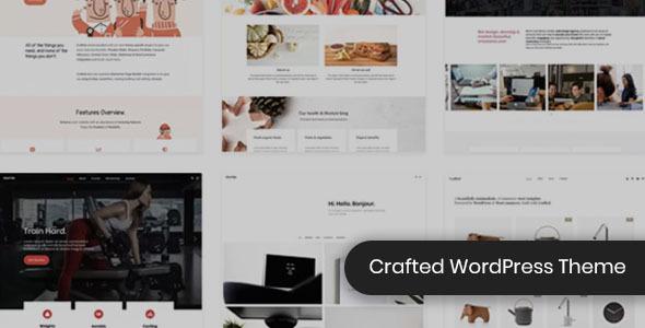 Crafted - Versatile Elementor WordPress Theme