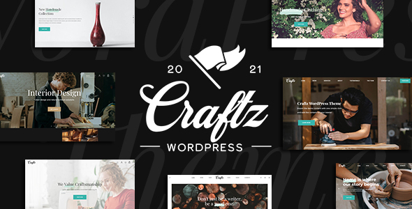Craftz - A WordPress Theme for Small Business Owners
