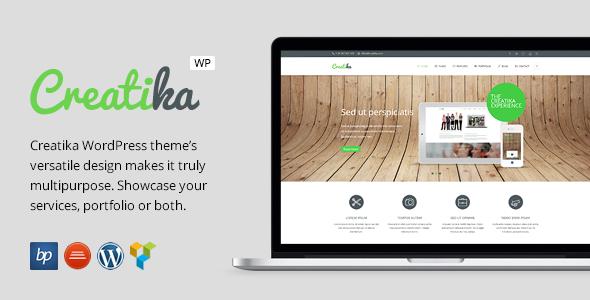 Creatika - Responsive Business WordPress Theme