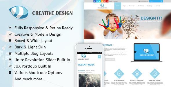 Creative - Responsive Corporate Joomla Template