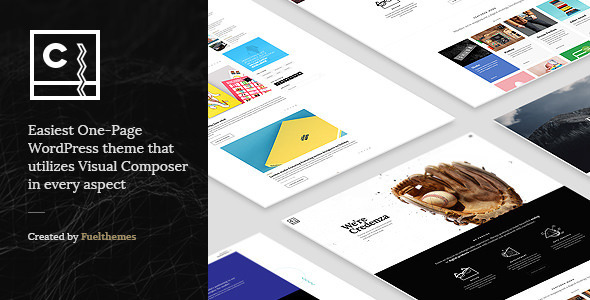 Credenza - VC Powered One Page Theme