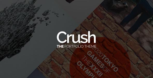 Crush - The Portfolio Theme