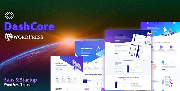 DashCore - Startup & Software WordPress Theme
