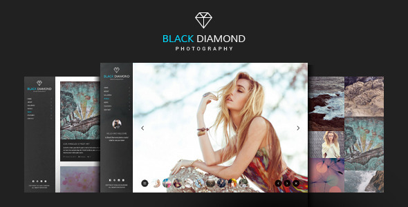 Diamond | Photography Portfolio WordPress Theme