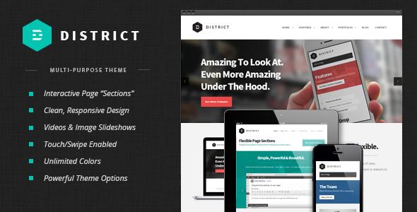 District: Responsive Multi-Purpose Theme