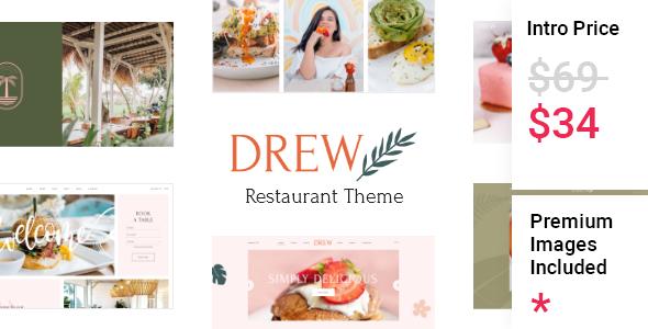 Drew - Restaurant Theme