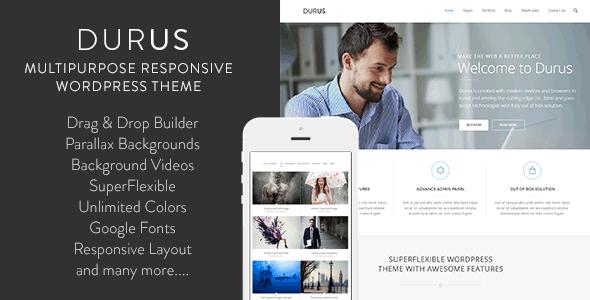 Durus Multipurpose WordPress Theme