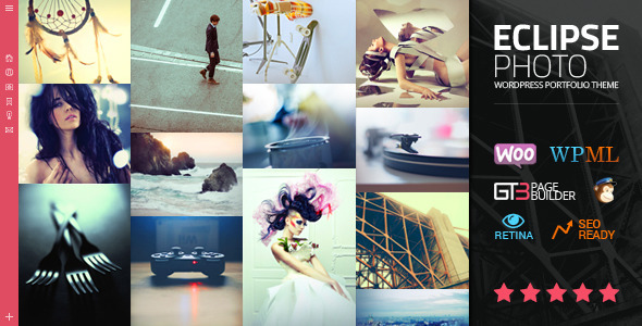 eClipse | Photography Portfolio WordPress Theme