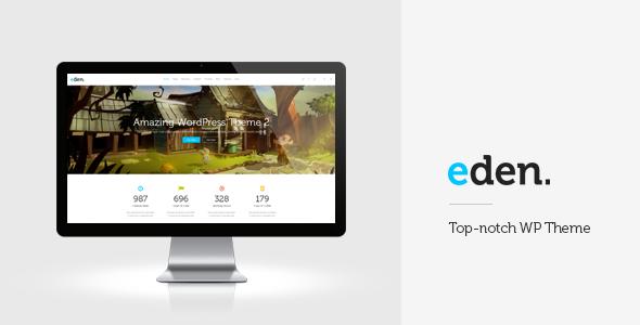 Eden - Retina Multi-Purpose WordPress Theme