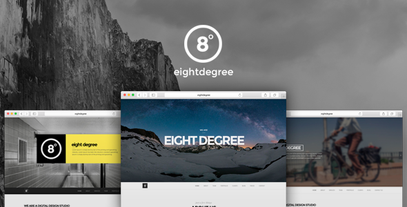 Eight Degree - One Page Parallax Theme