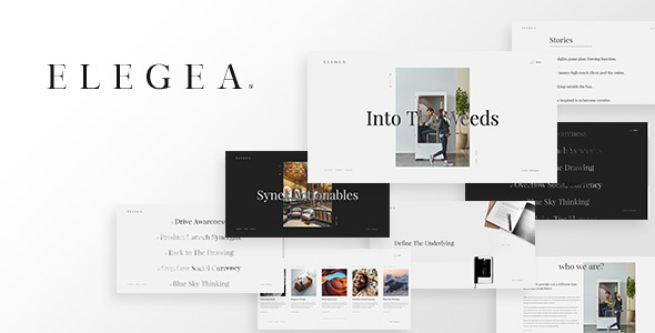Elegea - Multi-Concept WordPress Theme