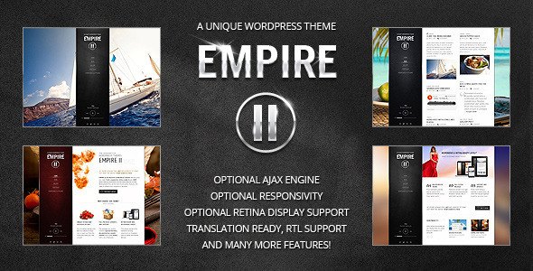 Empire II - WordPress Theme