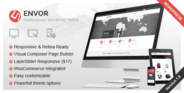 Envor - Fully Multipurpose WordPress Theme
