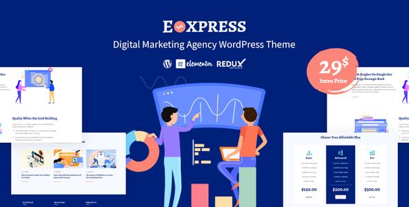 Eoxpress | Marketing Agency WordPress Theme
