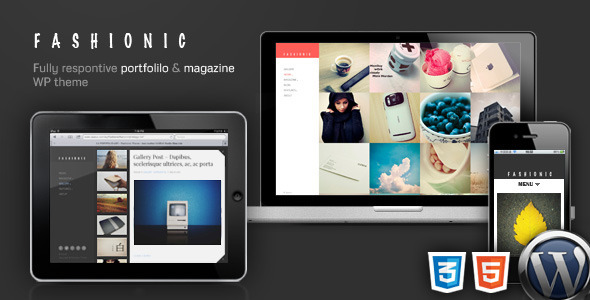 Fashionic - Portfolio/Magazine WordPress Theme