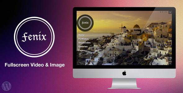 Fenix - Fullscreen Video & Image Background