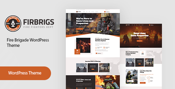 Firbrigs : Fire Department WordPress Theme