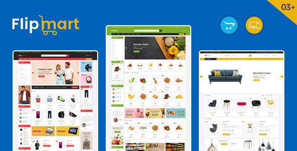 Flipmart - Supermarket OpenCart Theme