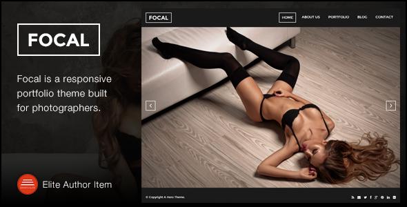 Focal - A Responsive Photography Theme