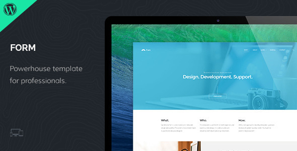 Form - Responsive WordPress Theme