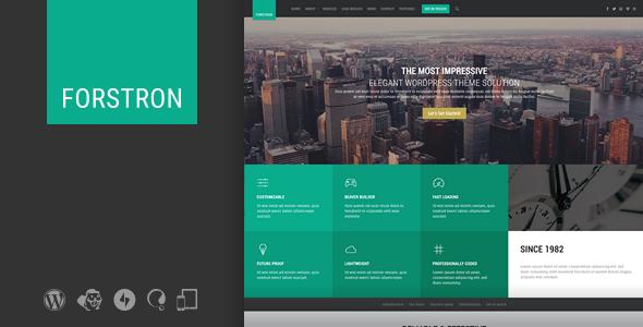 Forstron - Legal Business WordPress Theme