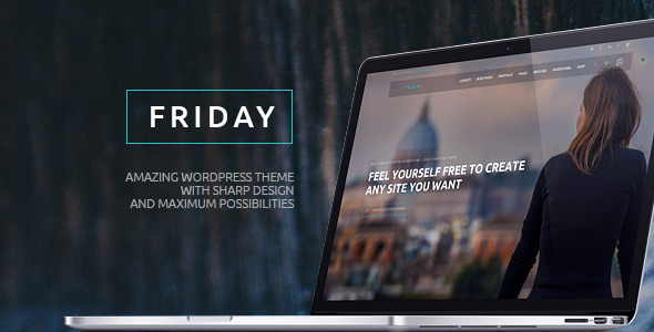 Friday - Multi-Purpose Wordpress Theme